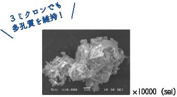 多孔質 電子顕微鏡画像